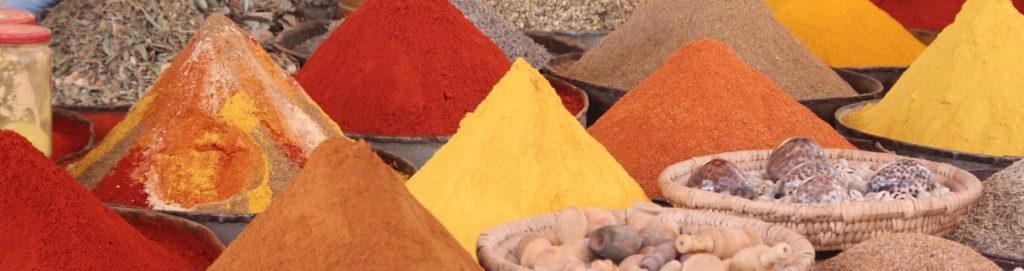 przyprawy z Maroka